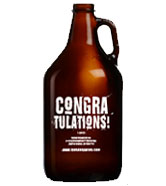 Growler Congratulations